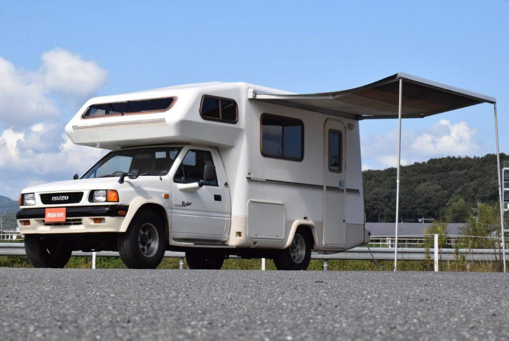 1992 Isuzu Rodeo 4x4 Camper by Ottoex