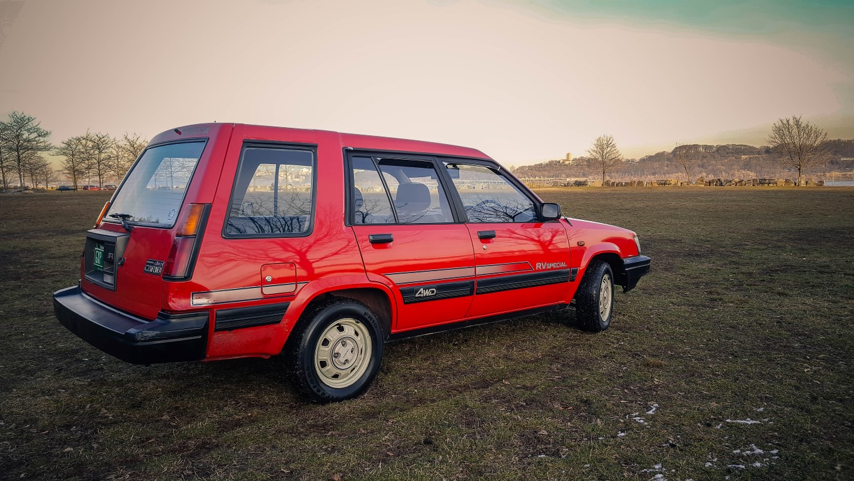 Medium on 1987 Toyota Tercel