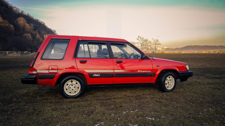 Medium on 1987 Toyota Tercel Engine