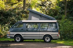 1993 Toyota Hiace Cruising Cabin Pop Top camper for sale in Portland OR by Ottoex Adventure Vehicles