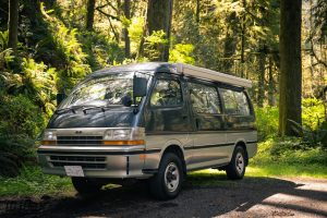 Toyota HIace Camper Van with a pop top by Ottoex