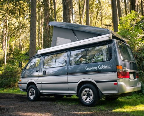 Pop Top Hiace 4x4 camper Van