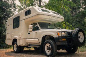 A 4x4 Toyota Hilux Galaxy JDM Camper for sale in Portland, Oregon by Ottoex