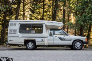 A 1984 Toyota Bandit Chinook Camper