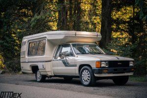 Toyota Bandit camper Fiberglass Toyota motorhome by Ottoex Portland, OR