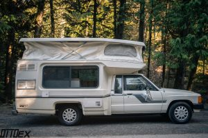 Toyota Bandit with pop top camper by Ottoex