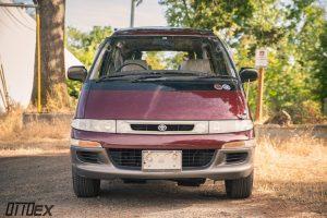 Toyota Estima Emina front end