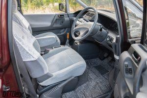 Toyota Previa front seats JDM
