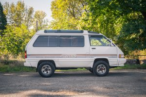 This is a 1988 Toyota 4x4 Van for sale