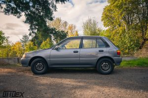 All wheel drive Toyota Starlet