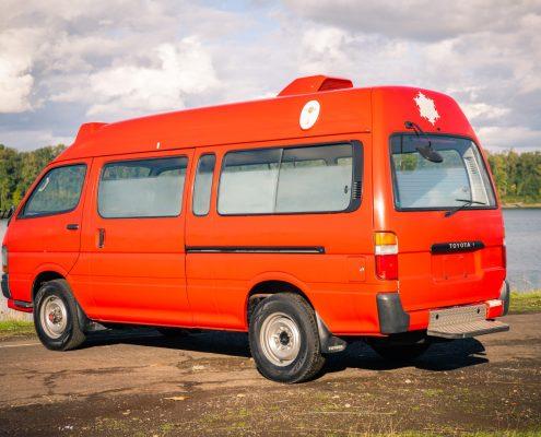 Toyota Hiace 4x4 Ambulance, Toyota Van, 4x4 Toyota Van Portlnad, Oregon Toyota Vans