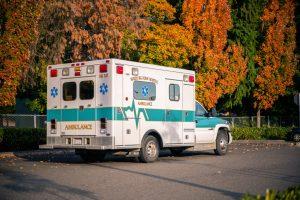 Duramax chevy 4x4 LBZ diesel ambulance