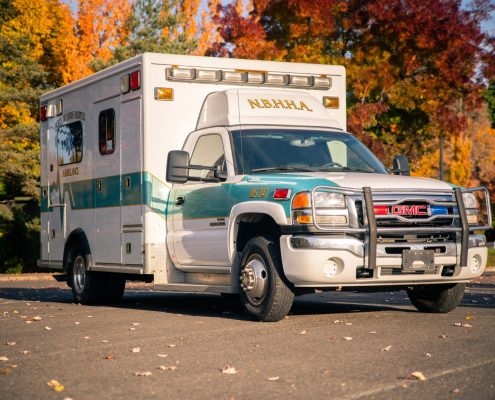 GMX Duramax 4x4 Ambulance for sale