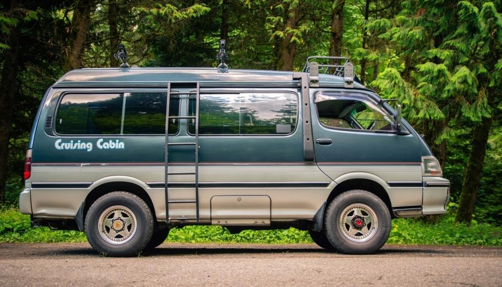 Toyota Hiace Cruising Cabin Pop Top camper van for sale